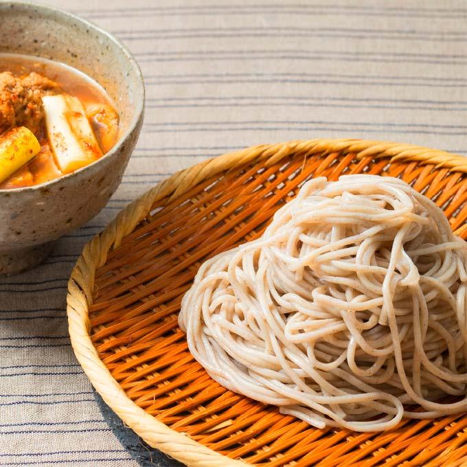 肉団子とお揚げの「つけ麺」